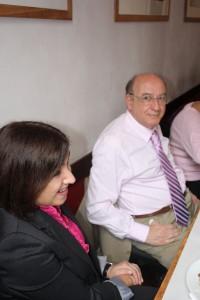 Ana Tironi (Biblioteca nacional del Chile) et Emir Suaiden (Instituto Brasilero de investigación Científica y Tecnológica) - 22-25 septembre 2009, Bogotá, Colombie