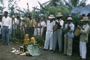 Chapelle Gradis, Basse-Pointe, Martinique, 1957