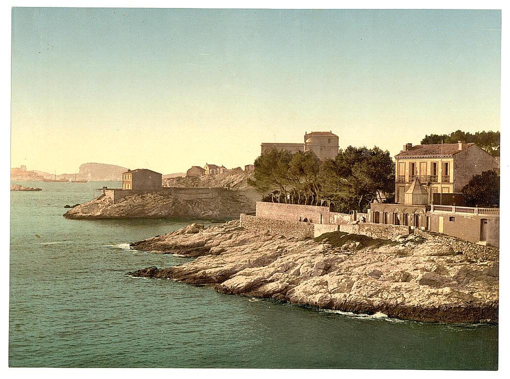 Vue de la Corniche de Marseille