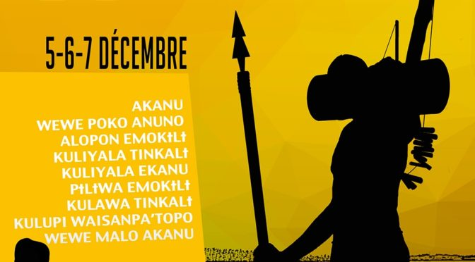 10e édition des jeux Kali'na (Awala-Yalimapo – Guyane)