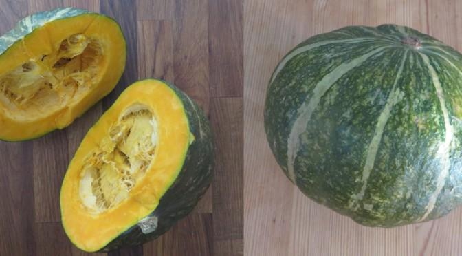 La recette du mois : la soupe de potimarron vert