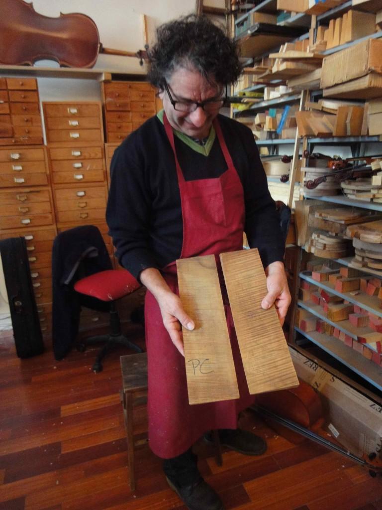 Petits rabots de luthier (atelier A. Sakellarides), cliché HCH