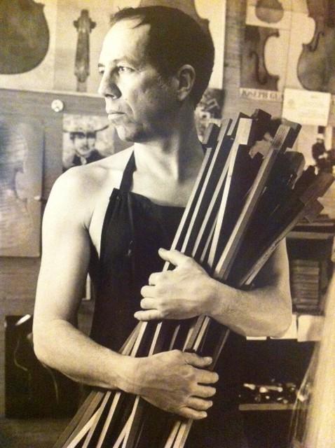 L'archetier Jean-Pascal Nehr, 2010 (photo Patrice Terraz)