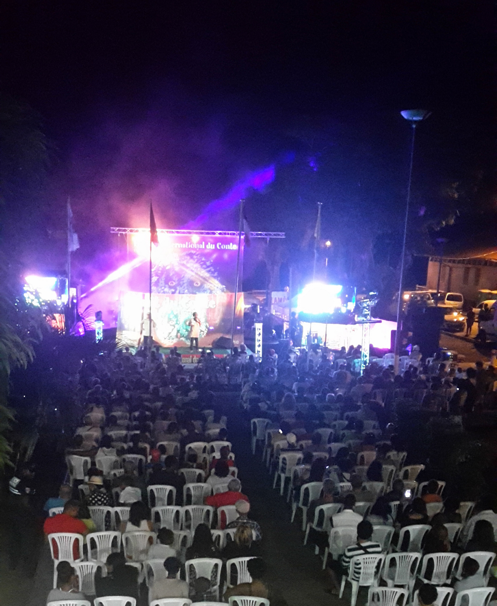 Université de Guyane : nuit du conte