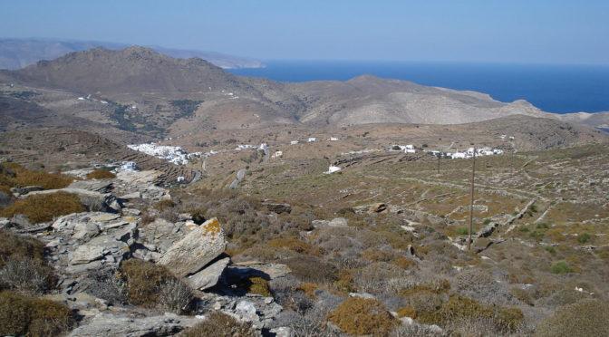 Les archives de la phonothèque s'écoutent sur l'île de Tinos