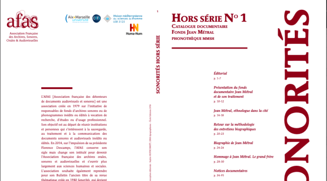 Récits de vie de Français au Liban en 1975 : publication du fonds Jean Métral