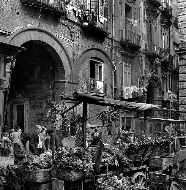 Naples en 1950